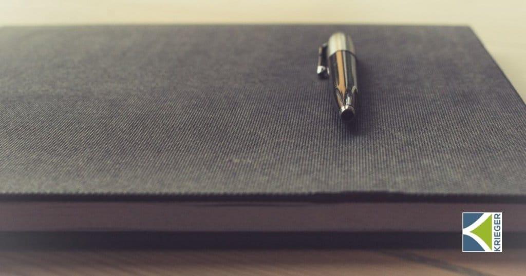 Pen on Folio